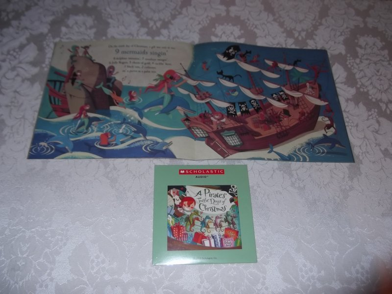 Image 6 of A Pirate's Twelve Days of Christmas Audio CD and brand new sc Philip Yates