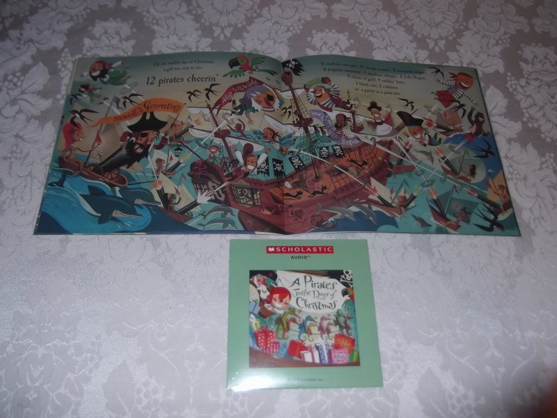 Image 7 of A Pirate's Twelve Days of Christmas Audio CD and brand new sc Philip Yates