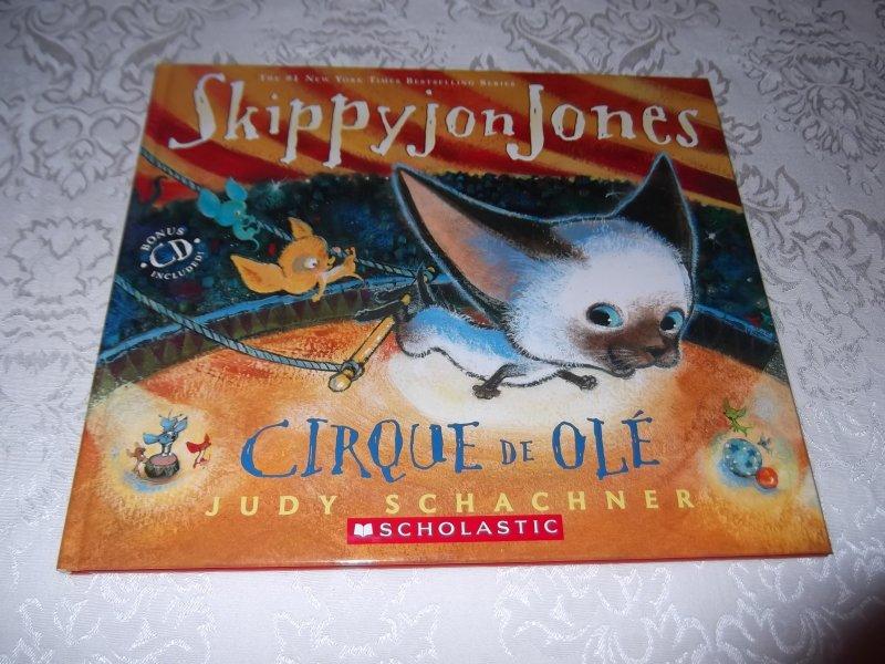 Image 0 of Skippyjon Jones Cirque De Ole Judy Schachner Brand New HC with Audio CD