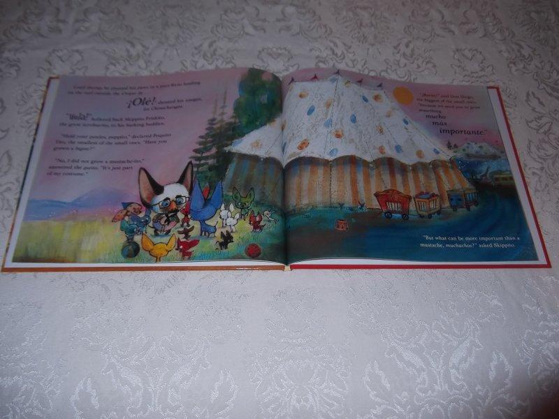 Image 3 of Skippyjon Jones Cirque De Ole Judy Schachner Brand New HC with Audio CD