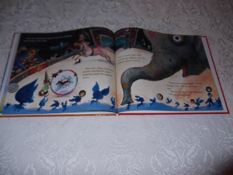 Image 5 of Skippyjon Jones Cirque De Ole Judy Schachner Brand New HC with Audio CD