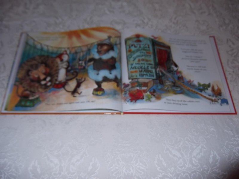 Image 6 of Skippyjon Jones Cirque De Ole Judy Schachner Brand New HC with Audio CD