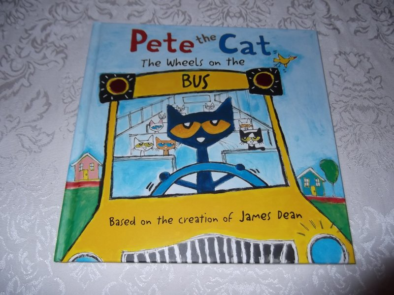 Pete The Cat Wheels On The Bus - Cute Cat 2018