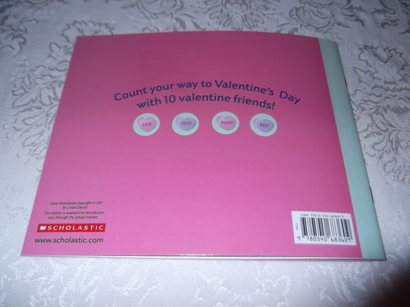 Image 9 of 10 Valentine Friends A Holiday Counting Book Janet Schulman Brand New SC