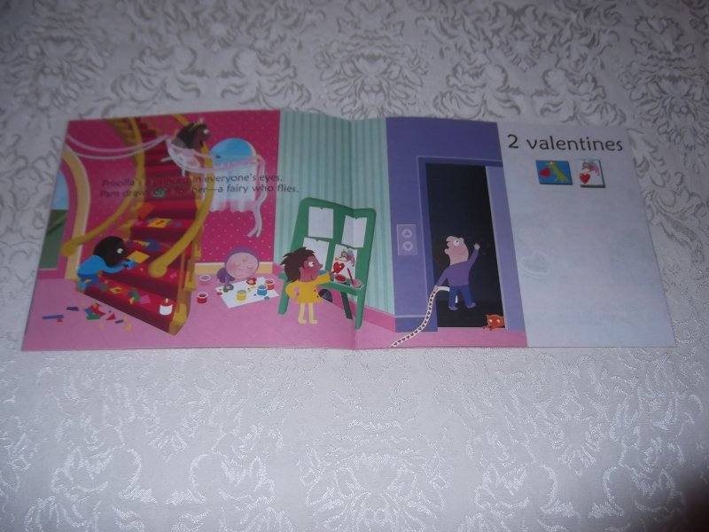 Image 7 of 10 Valentine Friends A Holiday Counting Book Janet Schulman Brand New SC