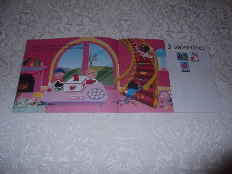 Image 6 of 10 Valentine Friends A Holiday Counting Book Janet Schulman Brand New SC