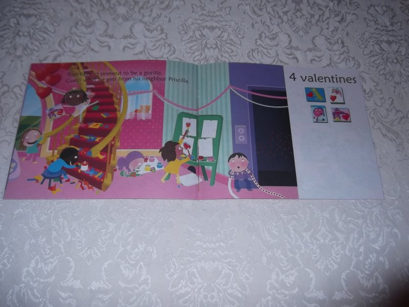 Image 5 of 10 Valentine Friends A Holiday Counting Book Janet Schulman Brand New SC