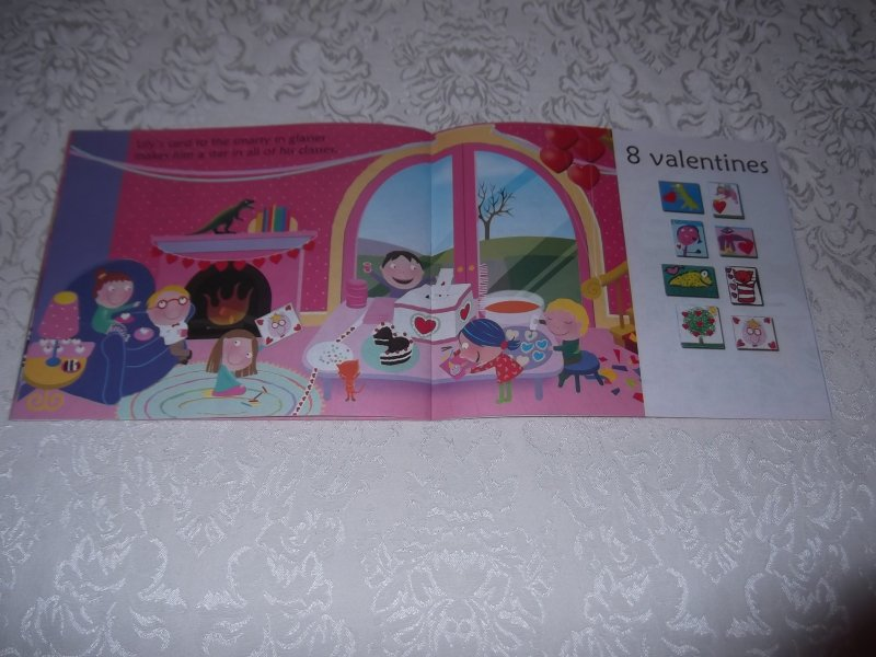 Image 3 of 10 Valentine Friends A Holiday Counting Book Janet Schulman Brand New SC