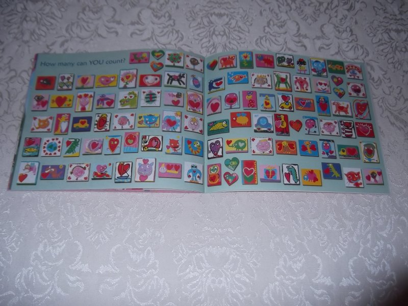 Image 1 of 10 Valentine Friends A Holiday Counting Book Janet Schulman Brand New SC