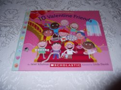 10 Valentine Friends A Holiday Counting Book Janet Schulman Brand New SC