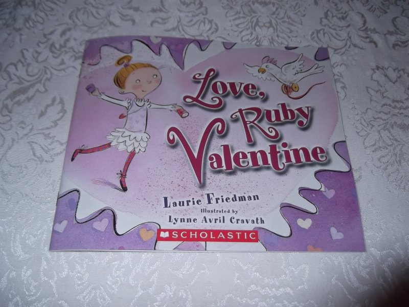Image 0 of Love, Ruby Valentine Laurie Friedman Brand New Softcover