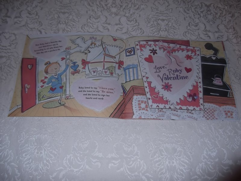 Image 2 of Love, Ruby Valentine Laurie Friedman Brand New Softcover