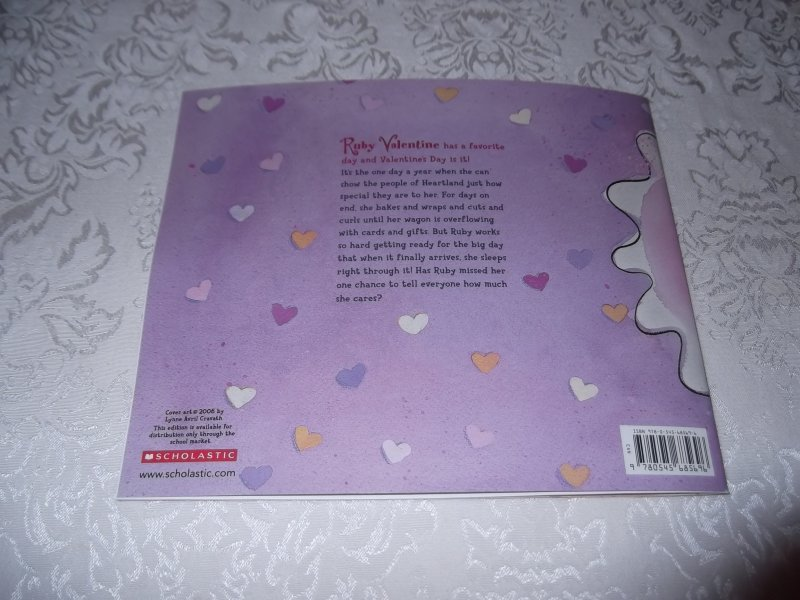 Image 8 of Love, Ruby Valentine Laurie Friedman Brand New Softcover
