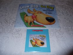 Snow Dog, Go Dog brand new Audio CD and sc Deborah Heiligman