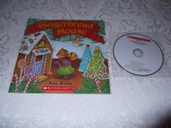 Gingerbread Mouse brand new Audio CD and sc Katy Bratun