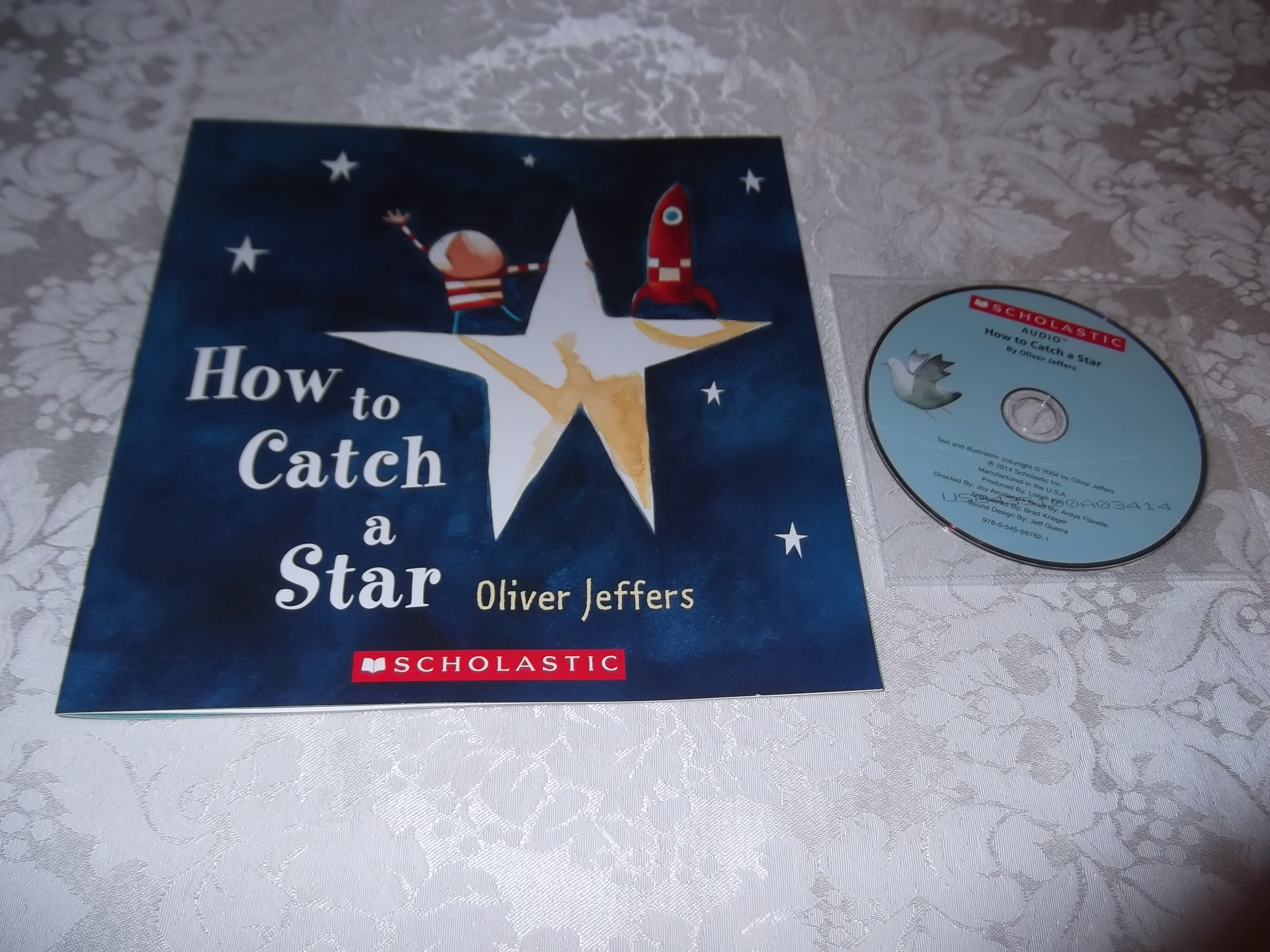 How to Catch A Star brand new Audio CD and sc Oliver Jeffers