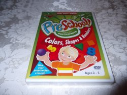 Preschool Colors, Shapes & Numbers brand new sealed DVD Rock N Learn