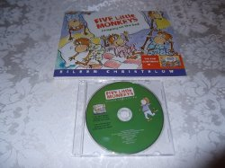 Five Little Monkeys Jumping On The Bed brand new Audio CD and sc Christelow