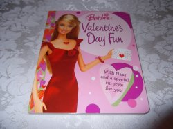 Barbie Valentine's Day Fun Cappi Novell Brand New Board Book with Flaps