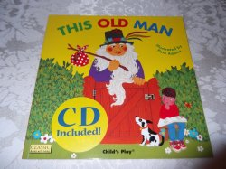 This Old Man brand new with Audio CD Child's Play Pam Adams