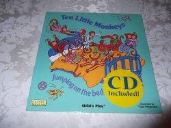 Ten Little Monkeys brand new with Audio CD Child's Play Tina Freeman