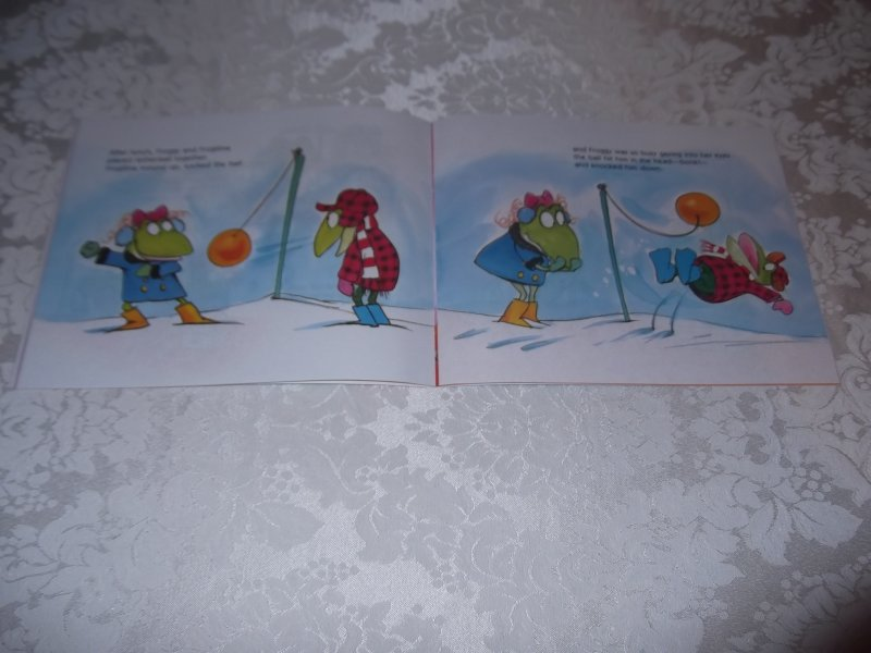 Image 5 of Froggy's First Kiss Jonathan London Brand New Softcover