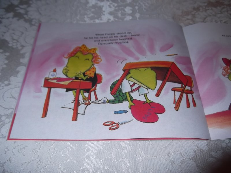 Image 3 of Froggy's First Kiss Jonathan London Brand New Softcover
