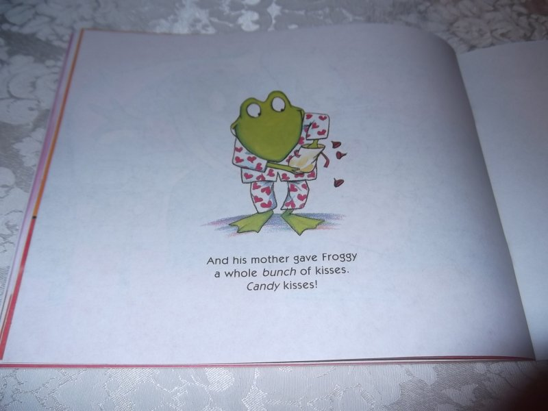 Image 1 of Froggy's First Kiss Jonathan London Brand New Softcover