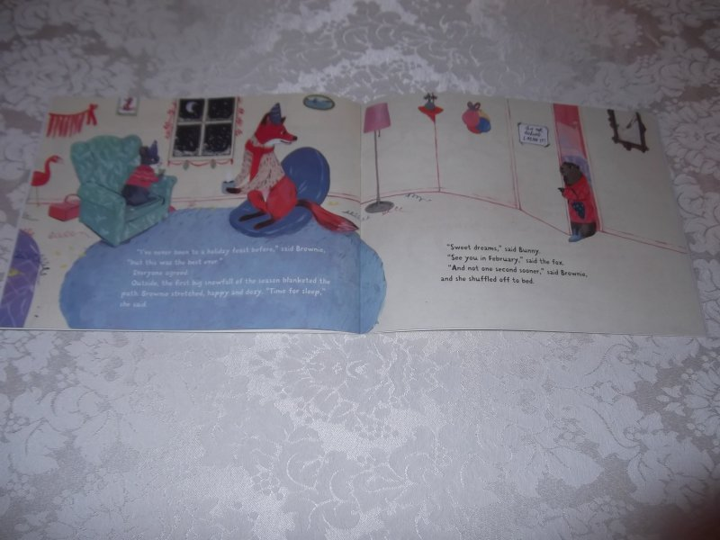 Image 7 of Brownie Groundhog and the Wintry Surprise Susan Blackaby Brand New SC