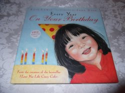 Every Year On Your Birthday Rose Lewis very good hc with dust jacket