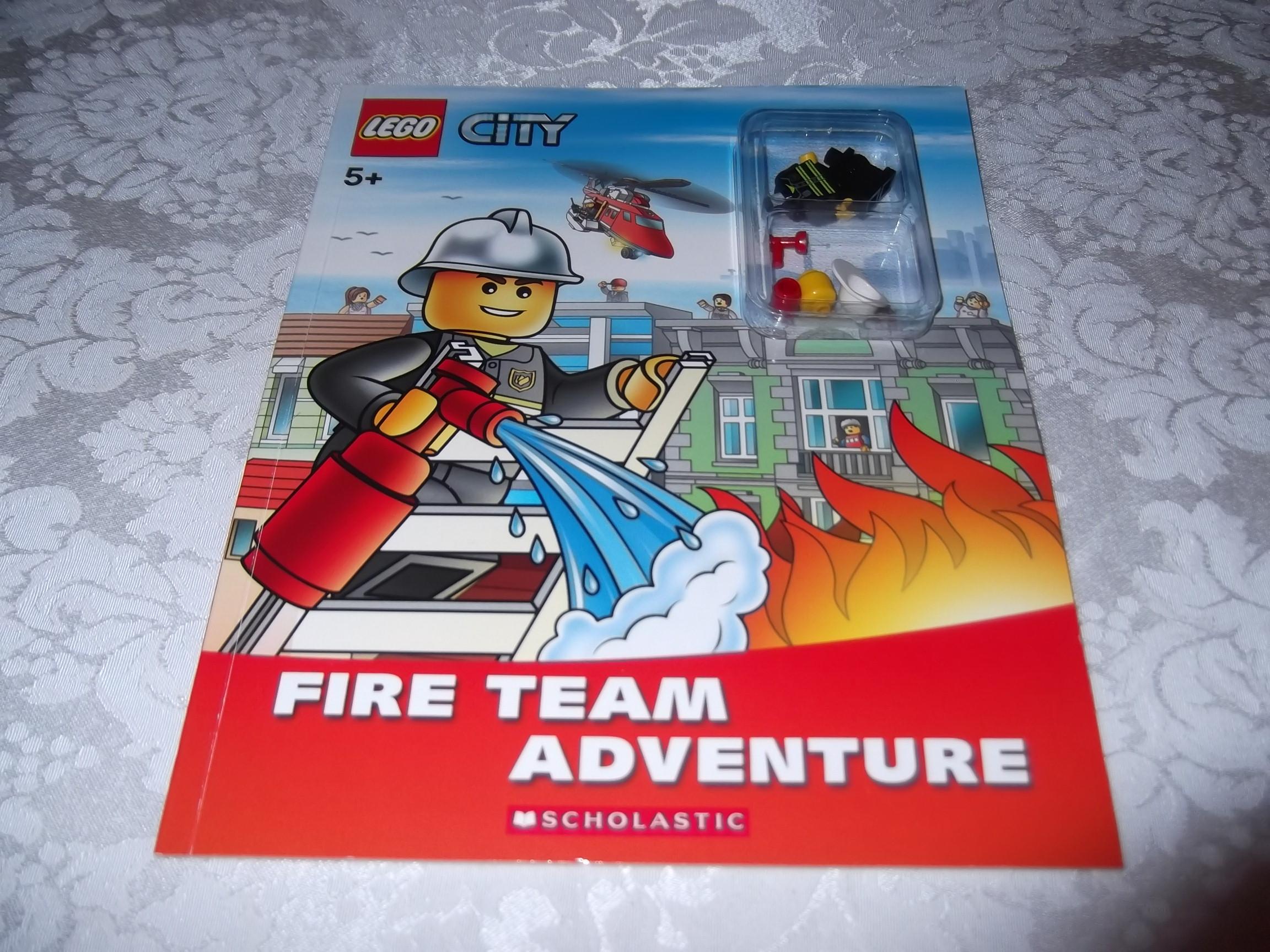 Lego City Books Lego City 5 Fire Team
