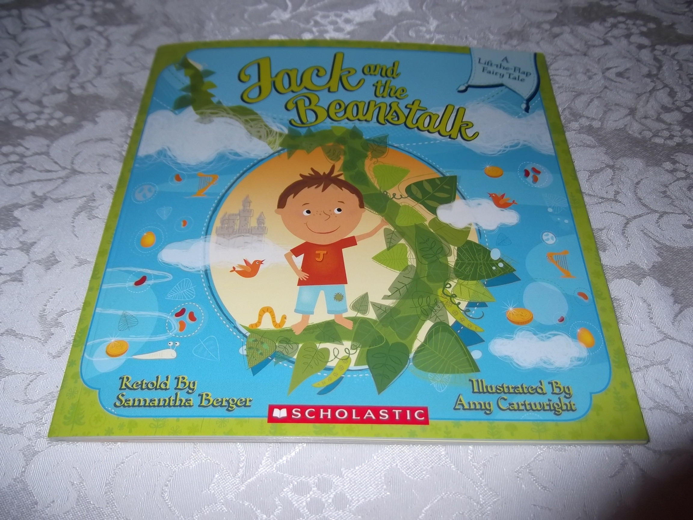 Jack and the Beanstalk Samantha Berger Lift-the-Flap Fairy Tale brand new