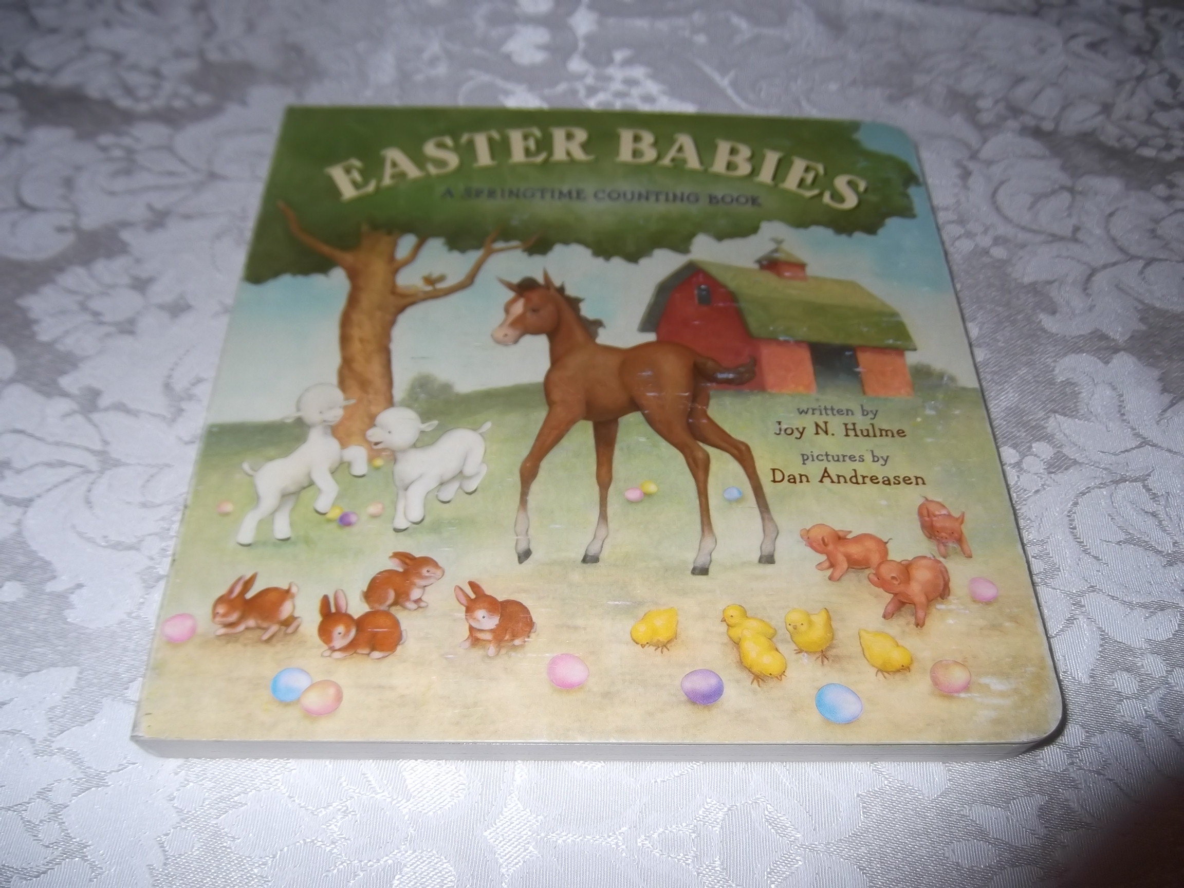 Easter Babies A Springtime Counting Book Joy N. Hulme very good board book