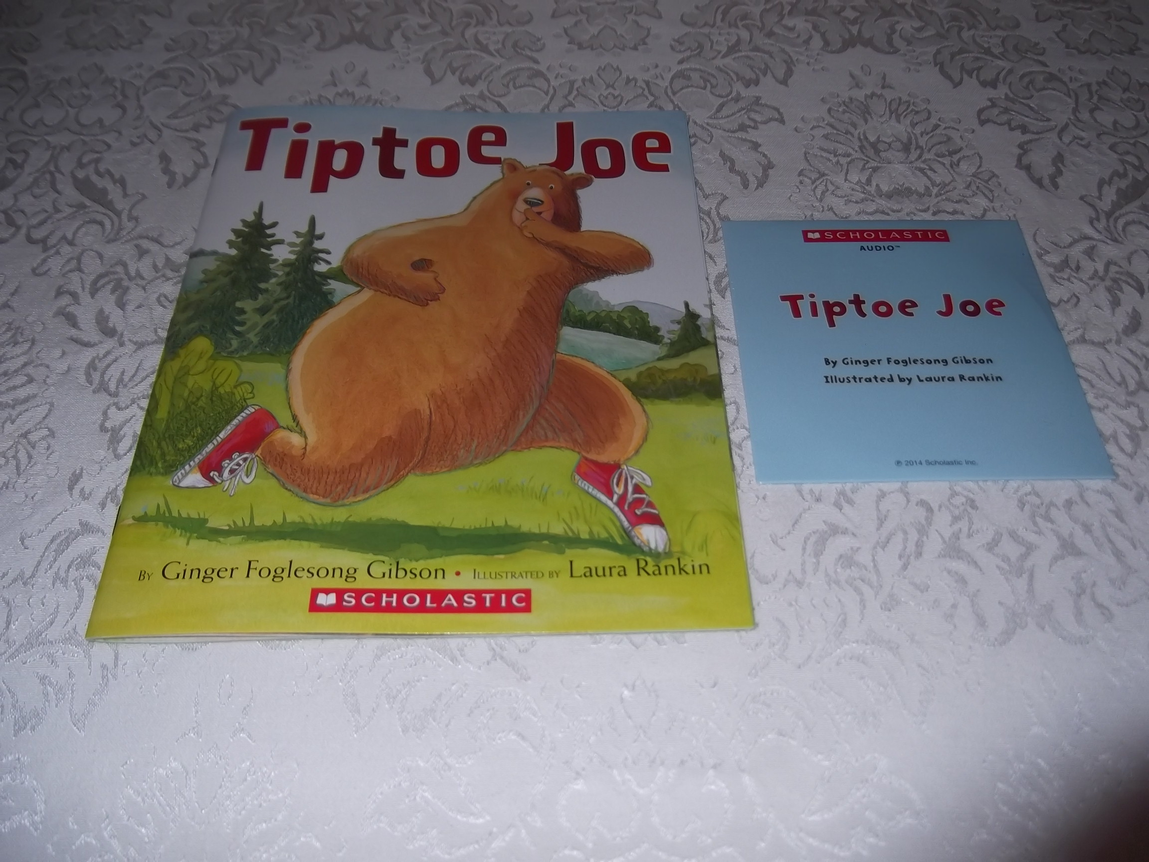 Tiptoe Joe Ginger Foglesong Gibson brand new sc and Audio CD