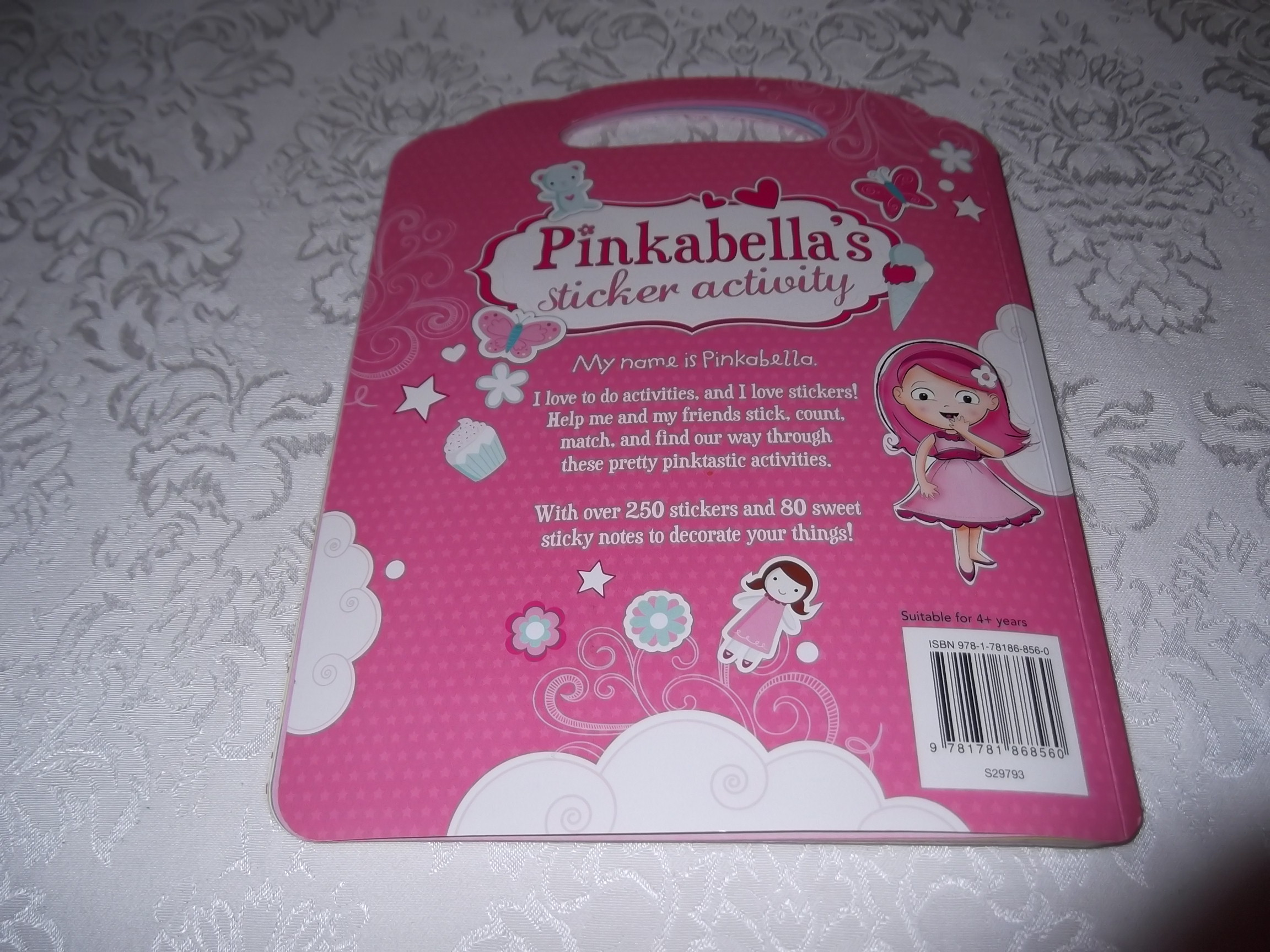 Pinkabellas Sticker Activity Book Brand New With 250 Stickers Books My Pretty Pink Image 20 Of