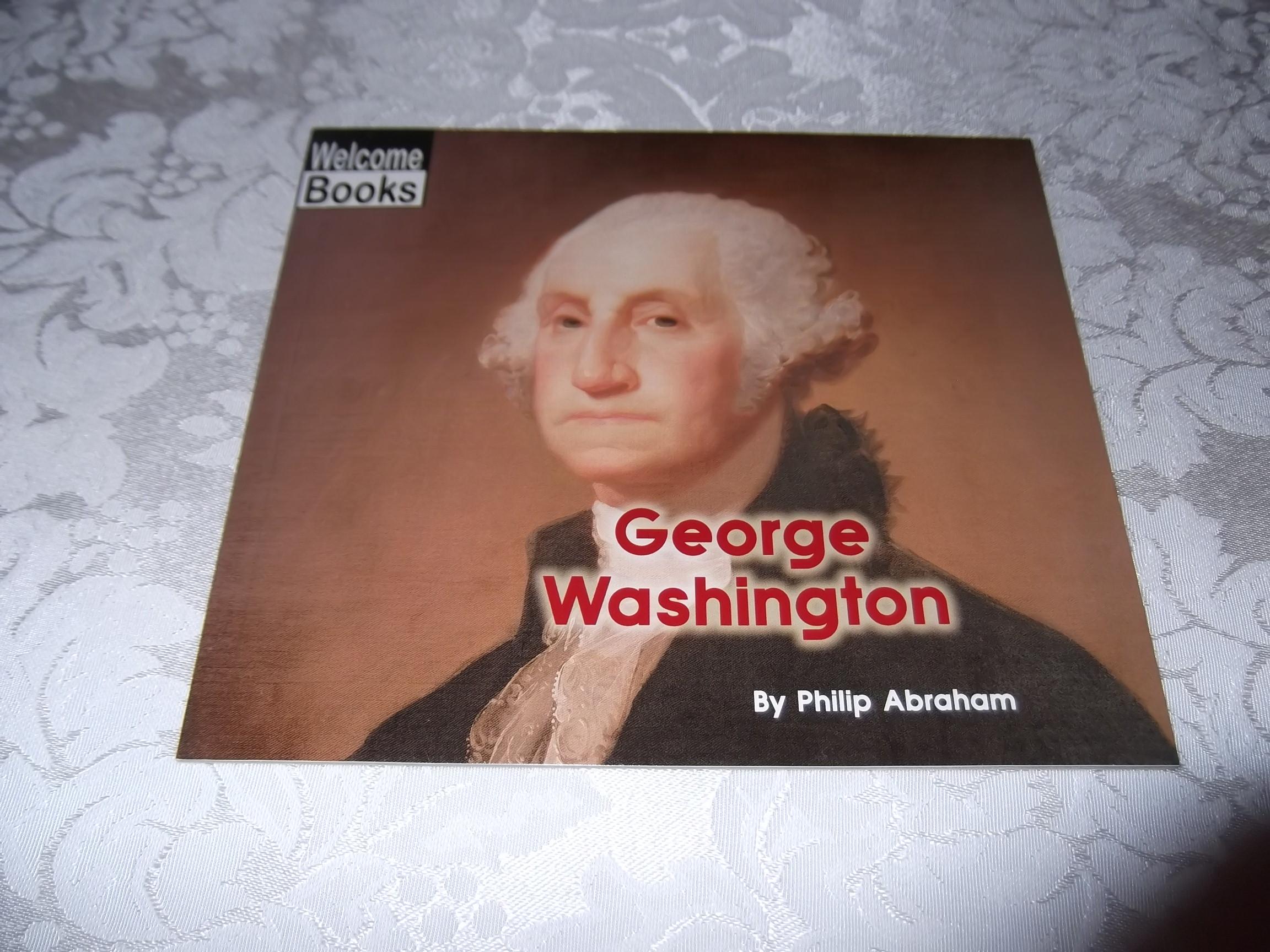 George Washington Philip Abraham brand new sc Welcome Book