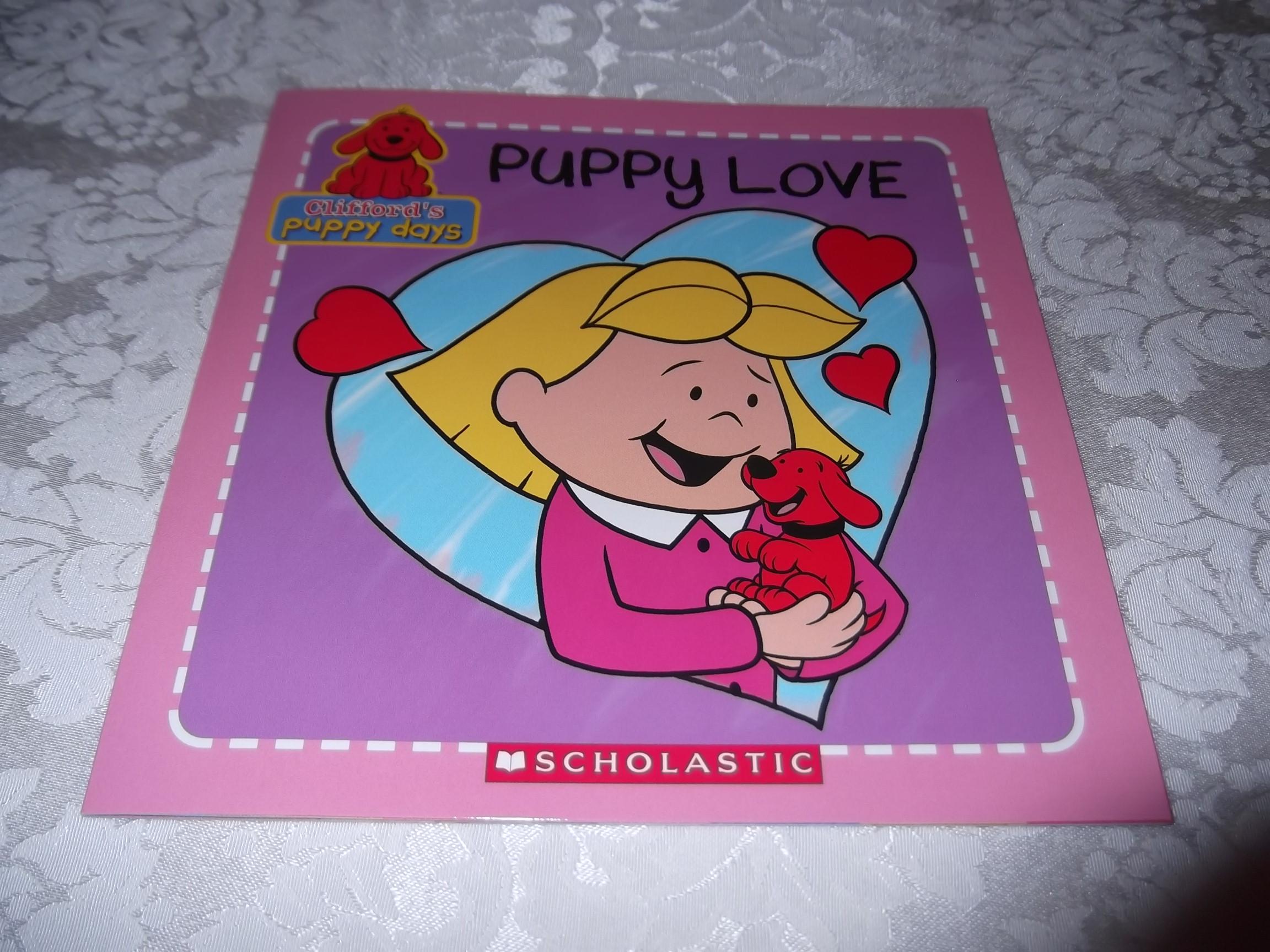 Puppy Love Clifford's Puppy Days brand new sc