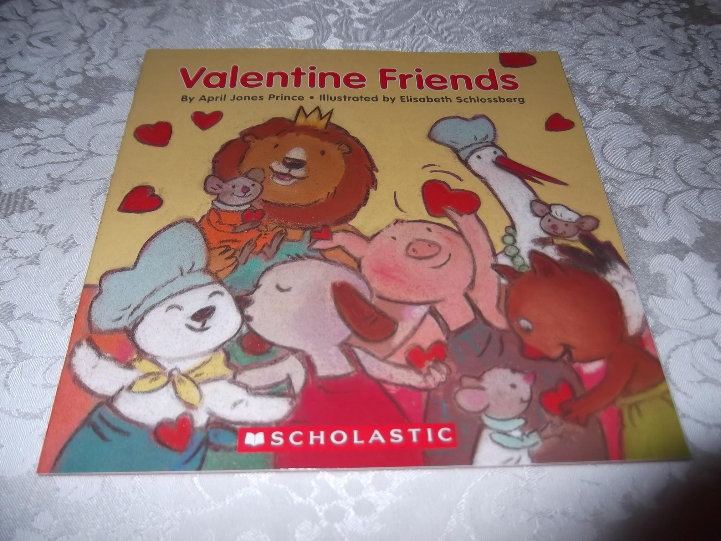Valentine Friends April Jones Prince brand new sc