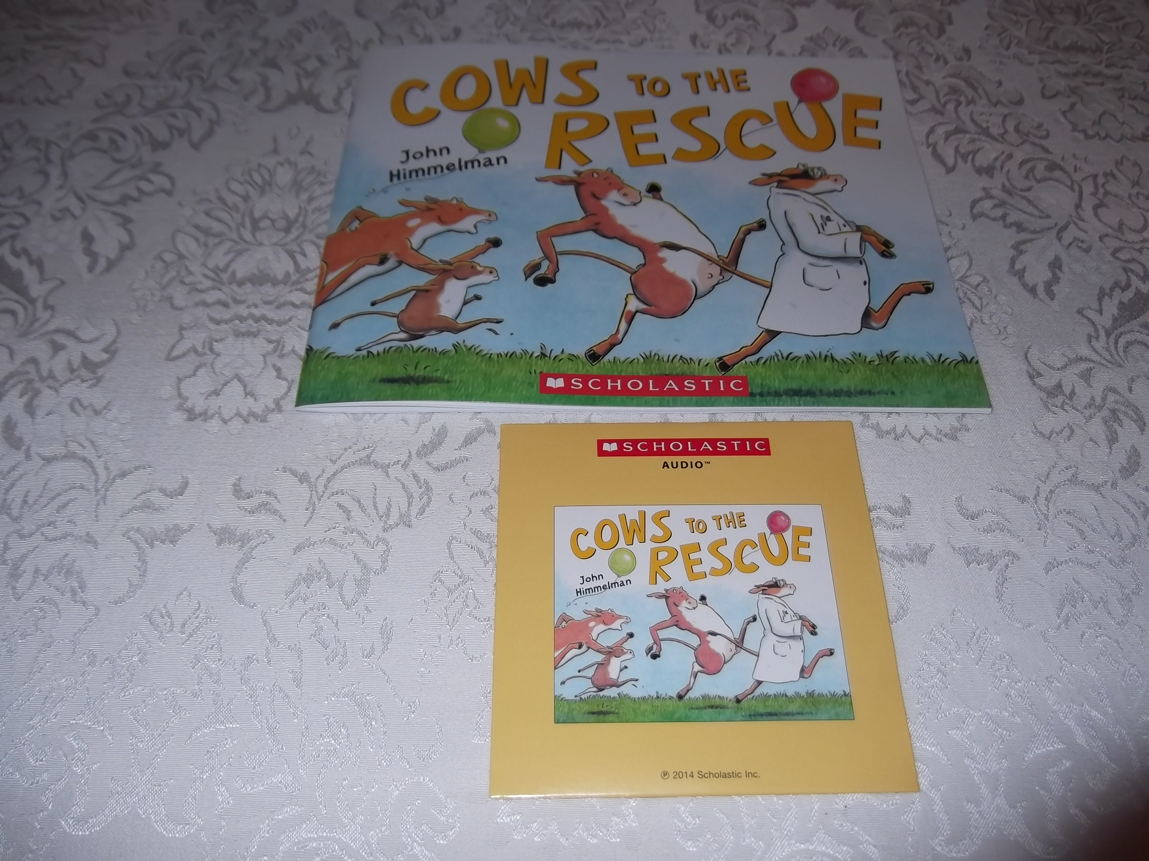 Cows To The Rescue John Himmelman Audio CD & SC Brand New