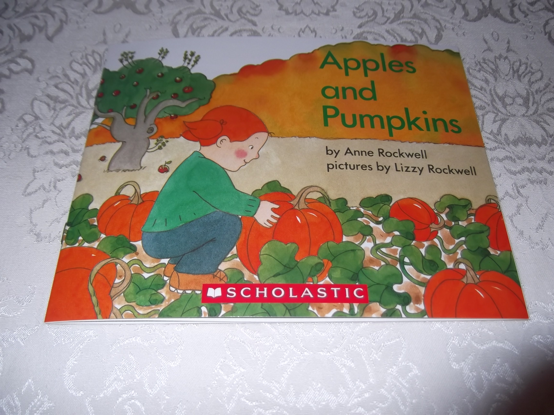 Apples and Pumpkins Anne Rockwell brand new softcover