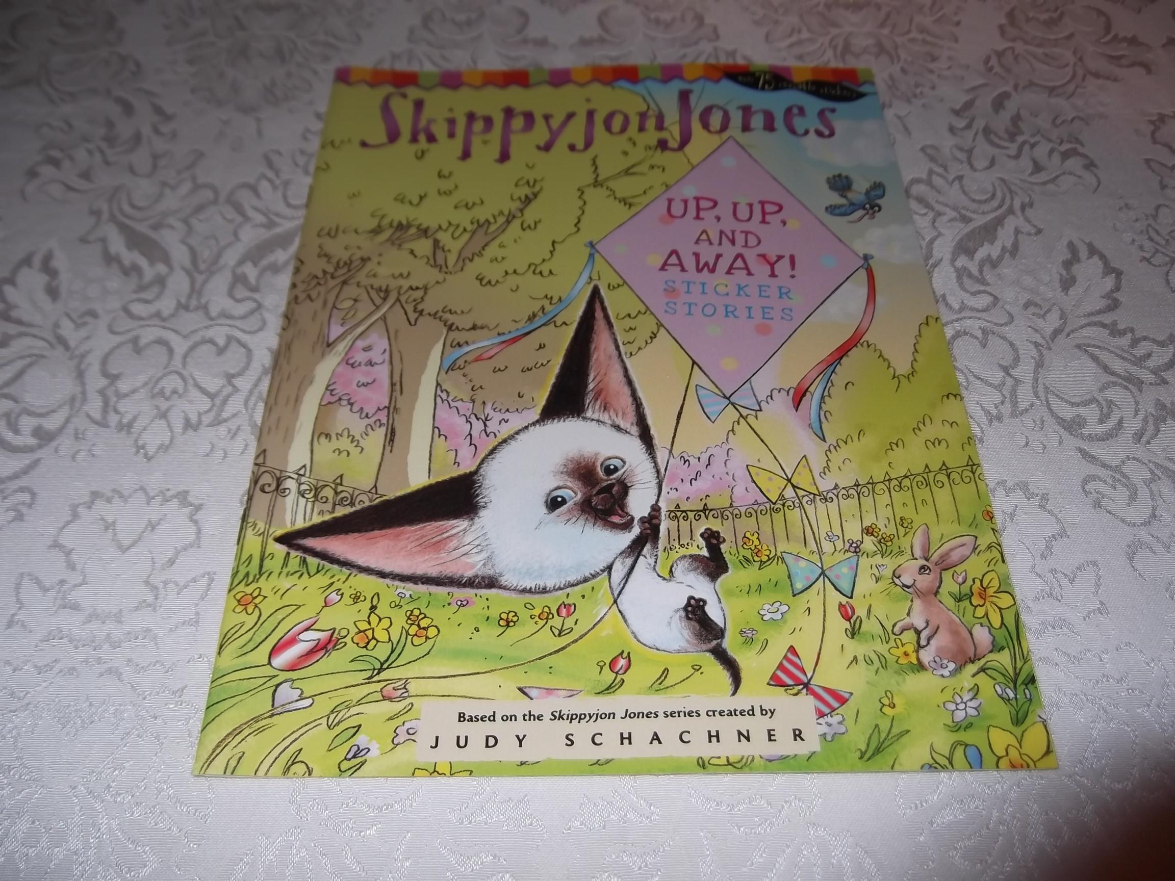 Skippyjon Jones Up, Up, And Away! Judy Schachner Sticker Stories brand new