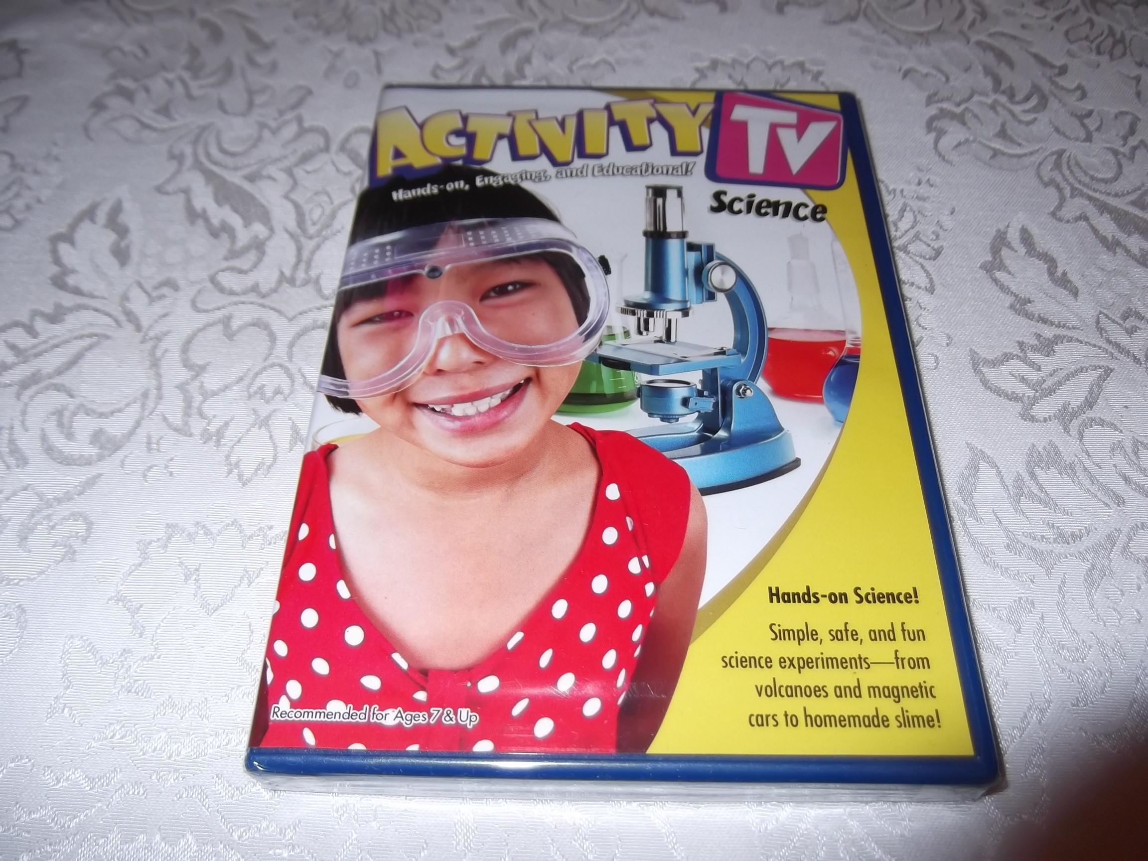 Activity TV Science Hands-on Science brand new sealed DVD