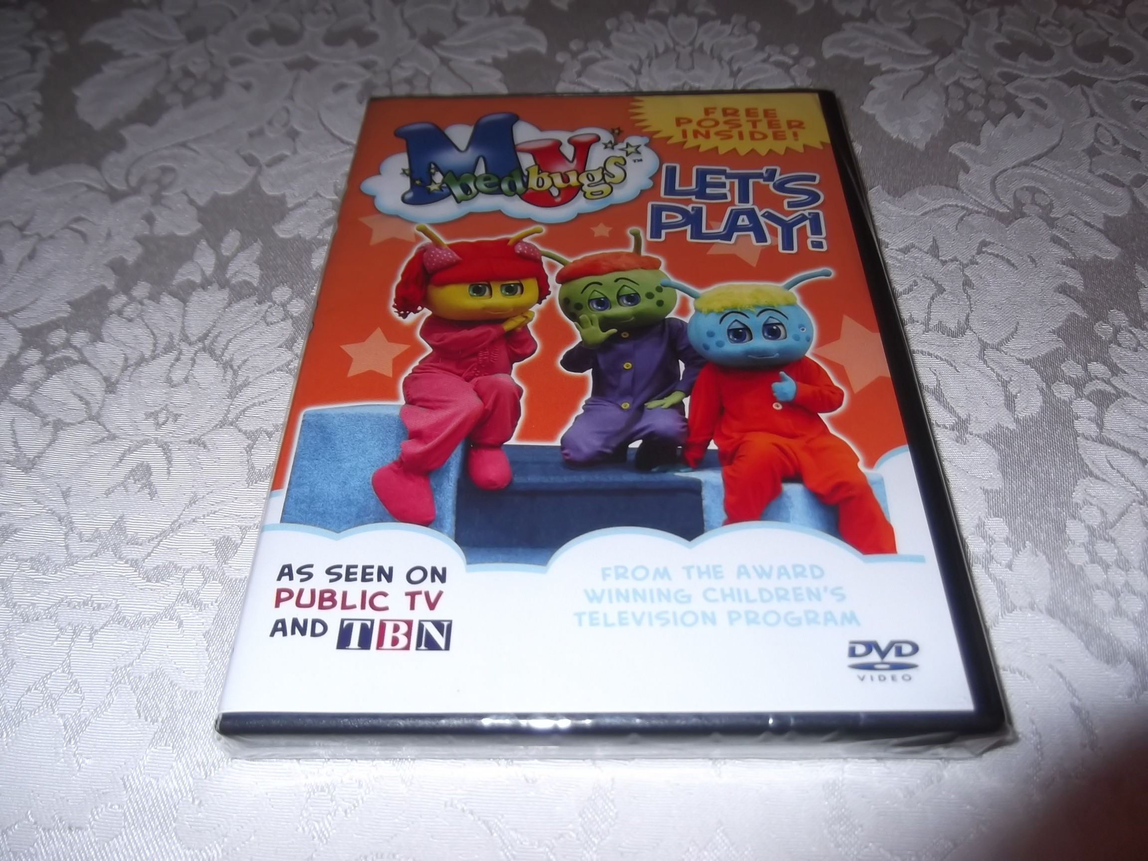 My Bedbugs: Let's Play! brand new and sealed DVD with Free Poster