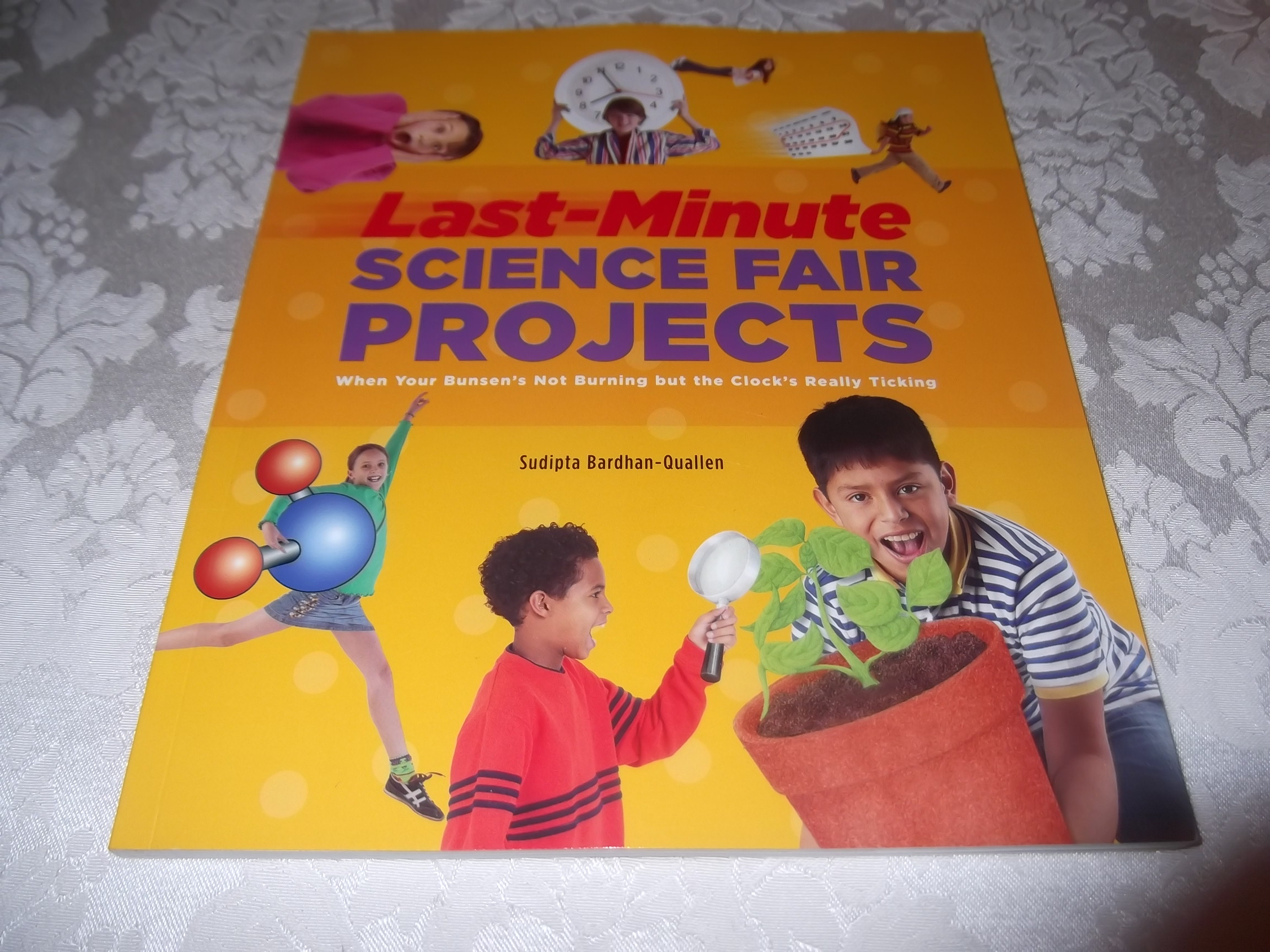 Last-Minute Science Fair Projects Bardhan-Quallen brand new 45 Experiments