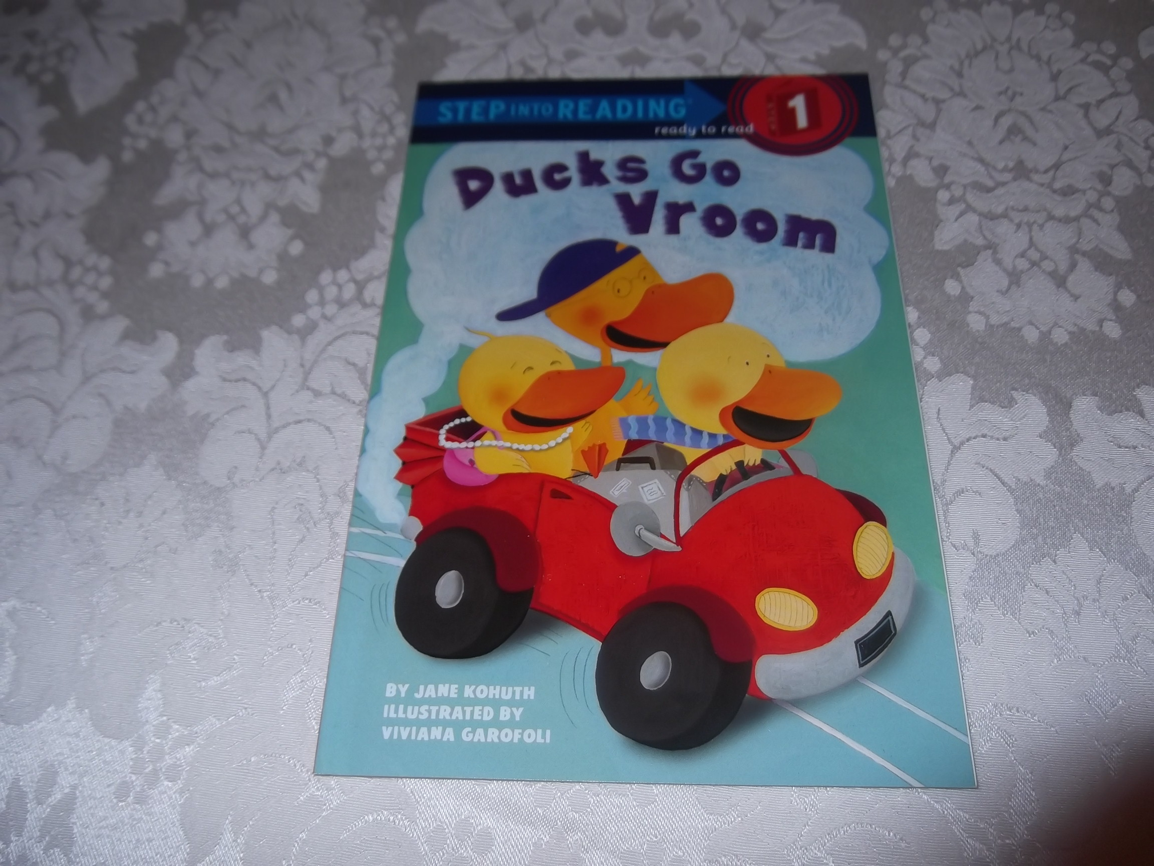 Ducks Go Vroom Jane Kohuth Step Into Reading Step 1 PreK-K brand new sc