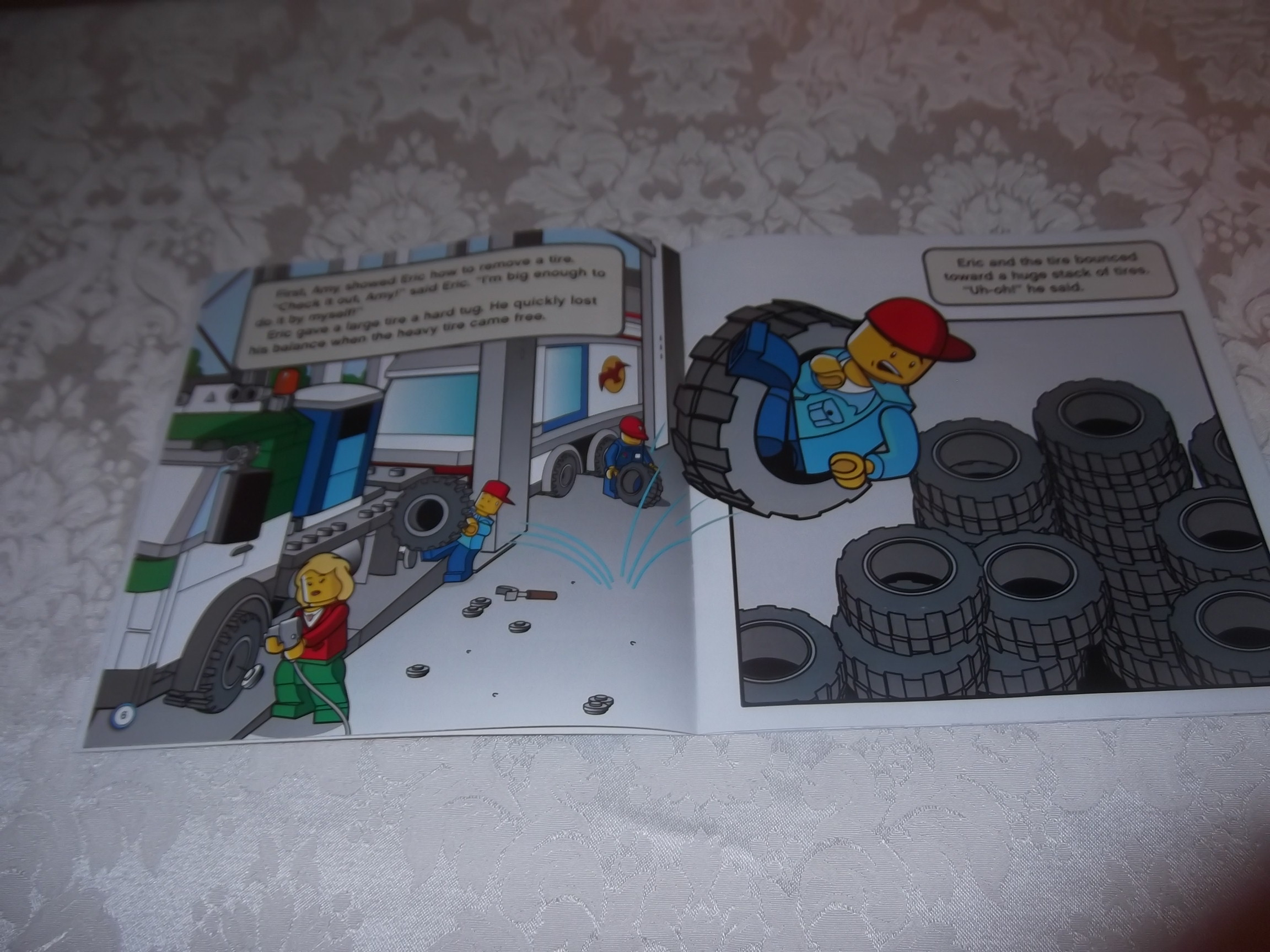 Image 1 of LEGO CITY Fix That Truck! Michael Anthony Steele brand new sc