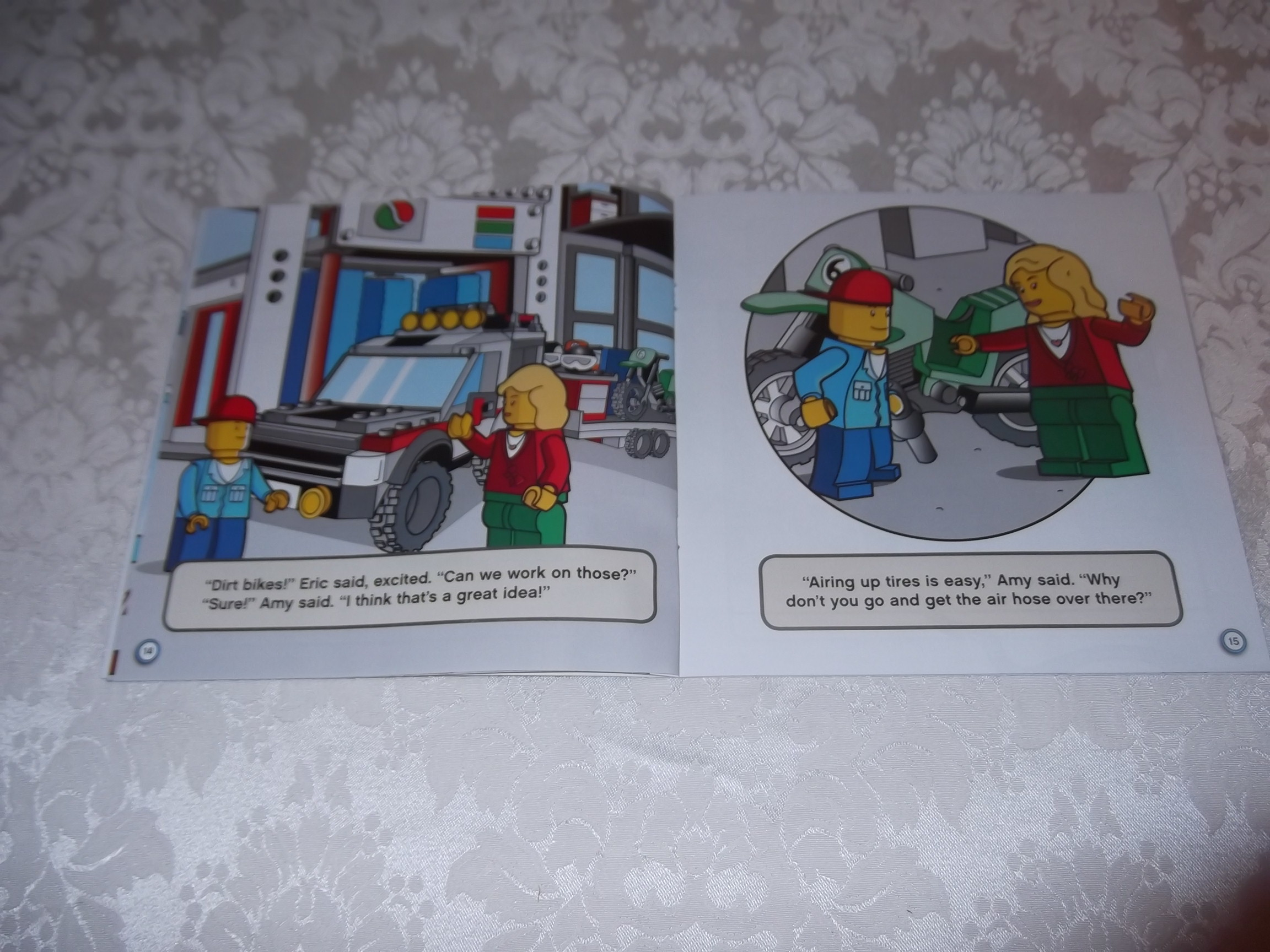 Image 3 of LEGO CITY Fix That Truck! Michael Anthony Steele brand new sc