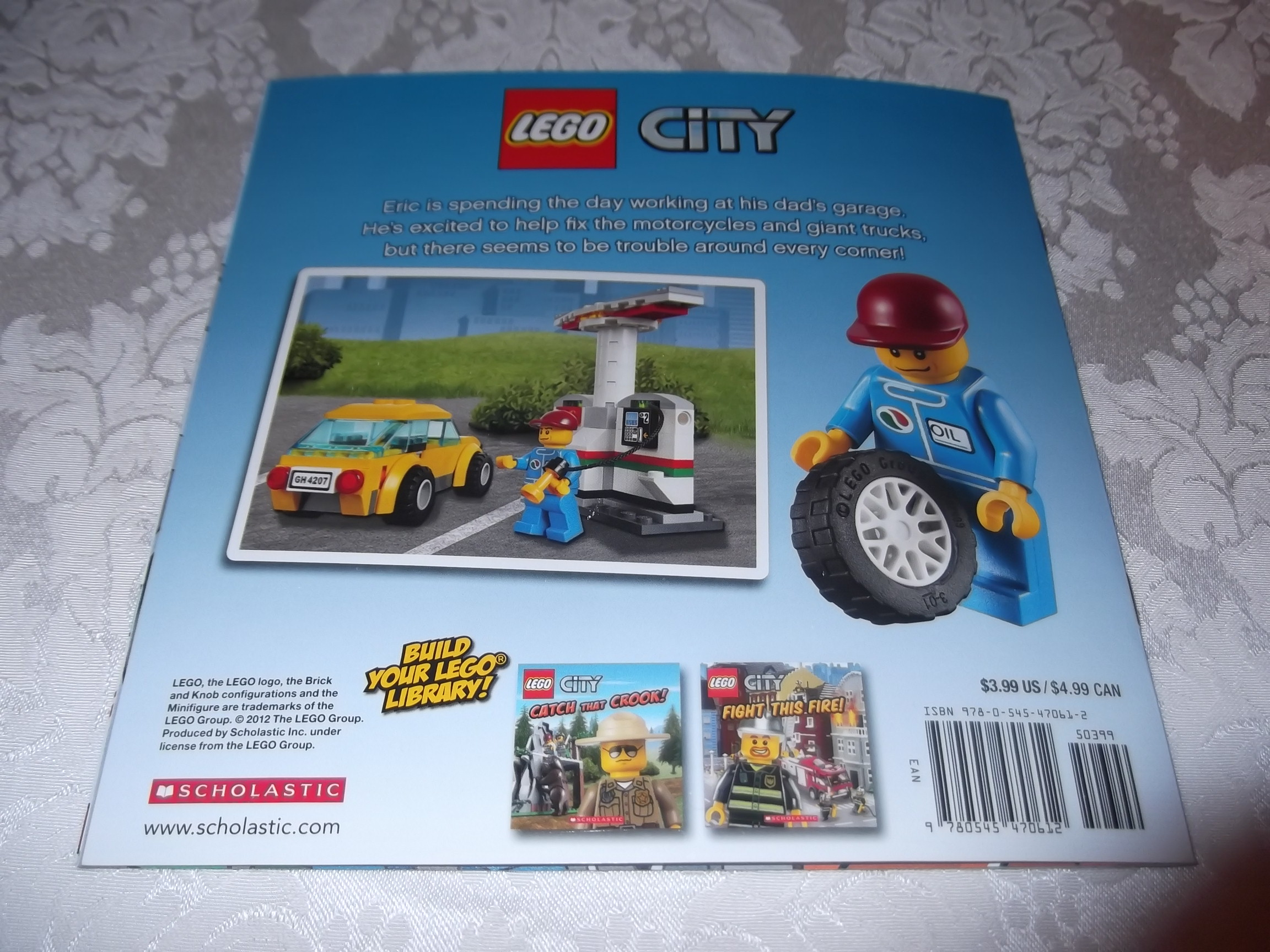 Image 5 of LEGO CITY Fix That Truck! Michael Anthony Steele brand new sc