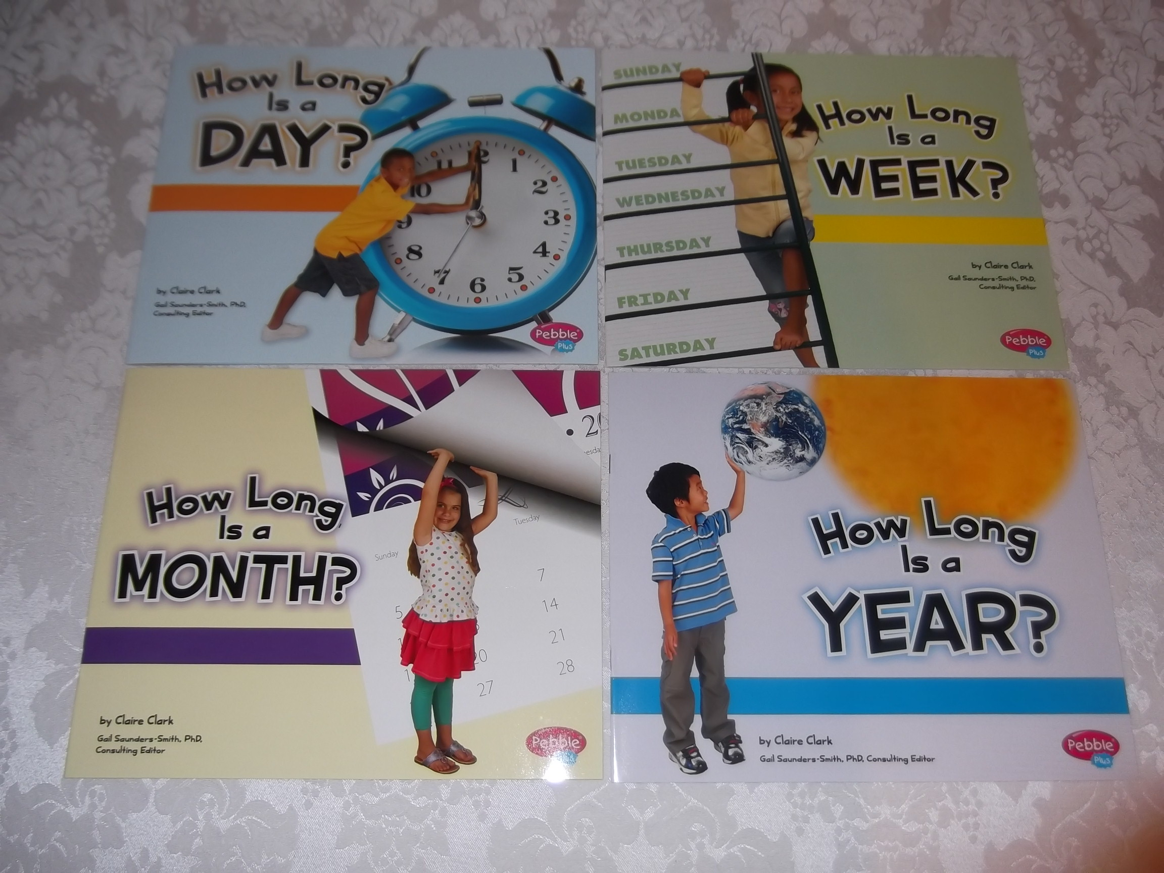 how long is a day  week  month  year  claire clark brand