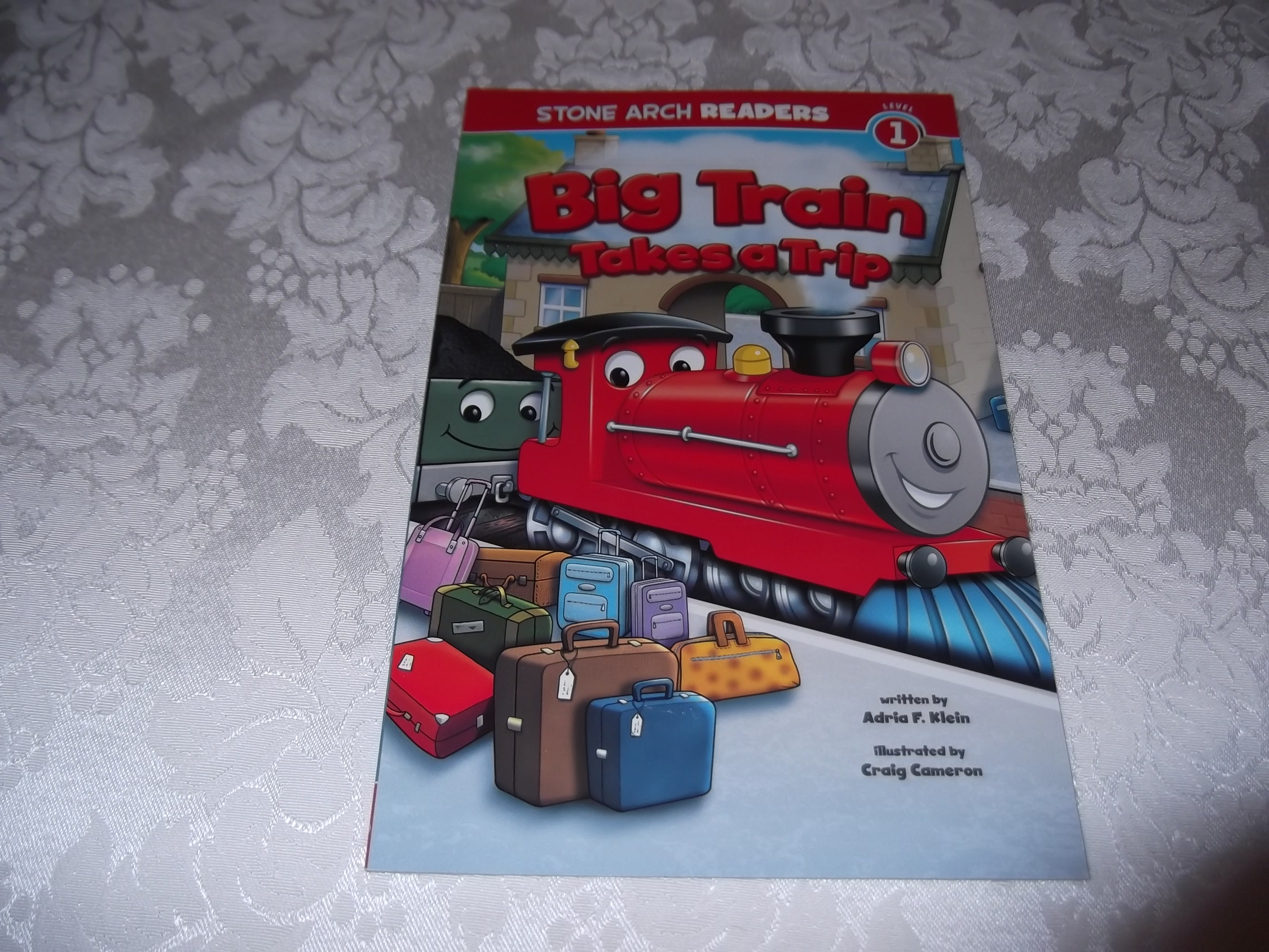 Big Train Takes A Trip Adria F. Klein Stone Arch Reader Level 1 brand new sc